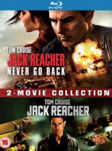 Coffret jack reacher et jack reacher never  go back - 2 blu-ray