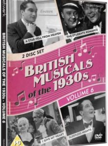 British musicals of the 1930s vol 6