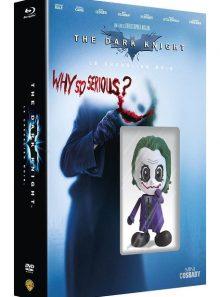 Batman - the dark knight, le chevalier noir - édition limitée mini cosbaby - blu-ray + dvd + copie digitale