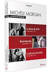 Michèle morgan - actrice de légende : la minute de vérité + marie-antoinette + le puits aux trois vérités - pack