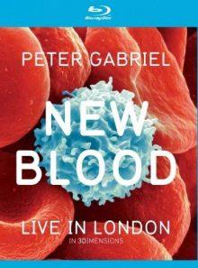 Peter gabriel - new blood, live in london - combo blu-ray 3d + blu-ray + dvd