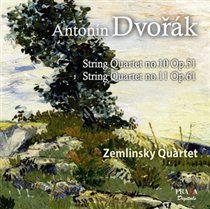 Dvorak: string quartets nos.10 & 11