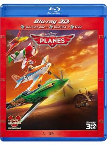 Planes - combo blu-ray 3d + blu-ray + dvd