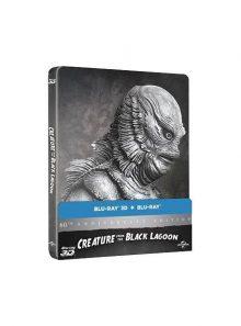 L'etrange créature du lac noir - édition 60ème anniversaire - blu-ray 3d - édition boîtier steelbook
