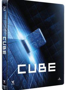 Cube - édition steelbook - blu-ray