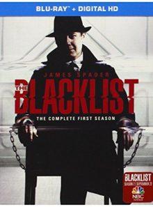 Blacklist: season 1 (blu-ray)