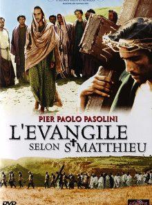 L'evangile selon st matthieu