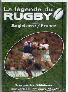 La legende du rugby n° 4 angleterre france 01/03/97