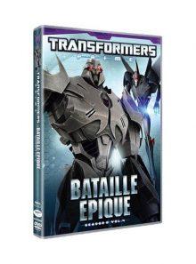 Transformers prime - saison 2, vol. 4 : bataille épique