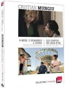 2 films de cristian mungiu : 4 mois, 3 semaines, 2 jours & les contes de l'age d'or (coffret de 2 dvd)