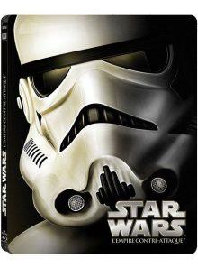 Star wars - episode v : l'empire contre-attaque - édition limitée boîtier steelbook - blu-ray