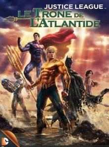 Justice league: le trone de l'atlantide: vod sd - achat