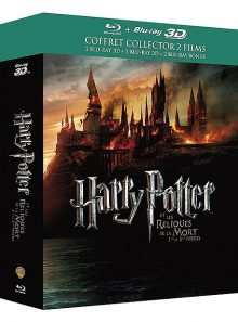 Harry potter et les reliques de la mort - 1ère et 2ème partie - édition collector