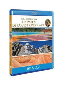 Antoine - iles... était une fois - les parcs de l'ouest américain - combo blu-ray + dvd