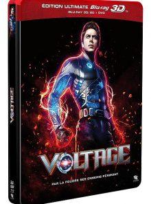 Voltage - édition ultimate blu-ray 3d + blu-ray + dvd - boîtier steelbook