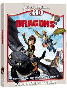 Dragons - combo blu-ray 3d + blu-ray 2d