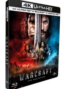 Warcraft : le commencement - 4k ultra hd + blu-ray + digital ultraviolet