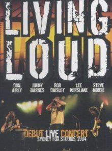 Living loud debut live concert