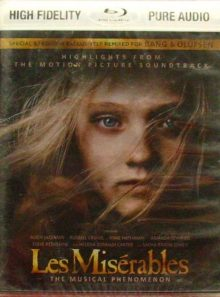 Les miserables - blu-ray - pure audio - high fidelity