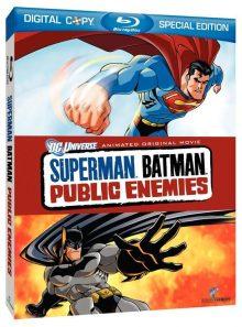 Superman/batman: public enemies - blu ray