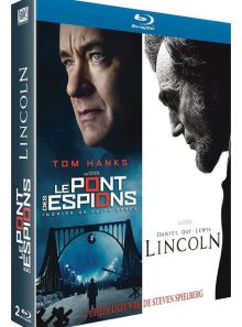 Le pont des espions + lincoln - pack - blu-ray