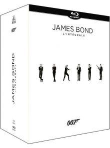 James bond 007 : intégrale des 24 films - édition limitée - blu-ray