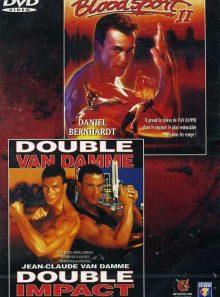 Blood sport 2 et double impact