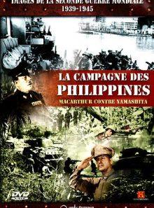 Images de la seconde guerre mondiale - campagne des philippines
