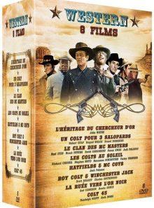 Western - coffret 8 films - pack