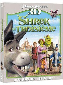 Shrek le troisième - combo blu-ray 3d + blu-ray 2d