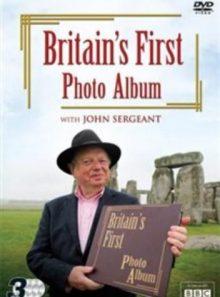 Britain's first photo album with john sergeant