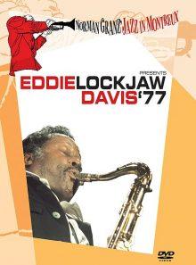 Norman granz' jazz in montreux presents eddie lockjaw davis '77