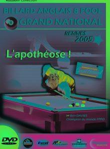 Billard anglais 8 pool, grand national 2005