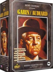Gabin-audiard - coffret 6 dvd