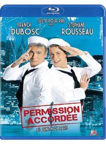 Franck dubosc et stéphane rousseau - permission accordée - blu-ray