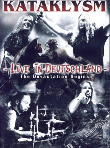 Kataklysm -live in deutschland- dvd+cd
