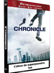 Chronicle - combo blu-ray + dvd - édition limitée boîtier steelbook