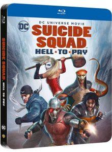 Suicide squad : le prix de l'enfer - édition steelbook - blu-ray
