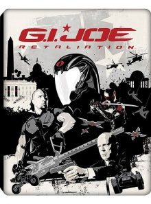 G.i. joe 2 : conspiration - combo blu-ray + dvd - édition limitée exclusive amazon.fr boîtier steelbook