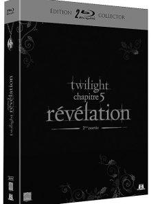 Twilight - chapitre 5 : révélation, 2ème partie - édition collector - blu-ray