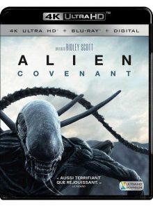Alien : covenant - 4k ultra hd + blu-ray + digital hd