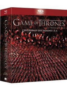 Game of thrones (le trône de fer) - l'intégrale des saisons 1 à 4 - blu-ray