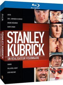 Stanley kubrick - un réalisateur visionnaire - coffret - pack - blu-ray