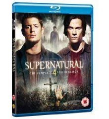 Supernatural - the complete 4th season - blu ray import