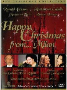 Happy christmas from milan at [import anglais] (import)