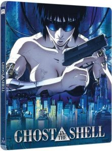 Ghost in the shell - édition collector boîtier steelbook - blu-ray