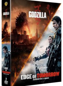 Edge of tomorrow + godzilla - dvd + copie digitale