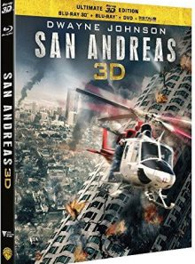 San andreas (ultimate edition) - combo blu-ray 3d + blu-ray + dvd + copie digitale