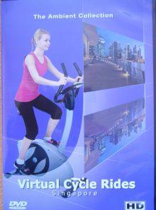 Virtual cycle rides - singapore - balades virtuelles pour vélo d'appartement