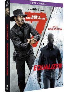 Les sept mercenaires + equalizer - dvd + copie digitale